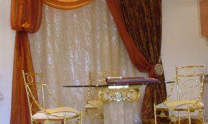 Украшаем интерьер – шторы со свагами в квартире