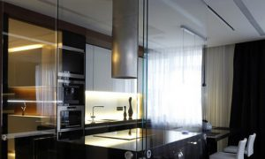 Дизайн интерьера квартиры со стеклянными стенами