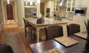 Идеи зонирования кухни