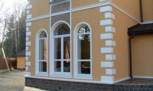 Фасадный декор из пенопласта для вашего дома