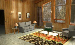 Идеи оформления интерьера деревянного дома