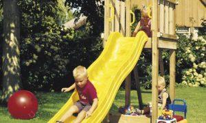 Оформляем на даче детскую площадку