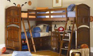 Детские двухярусные кровати в интерьере