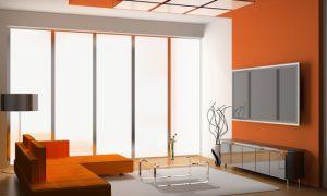Фото идеи использования оранжевого цвета в интерьере