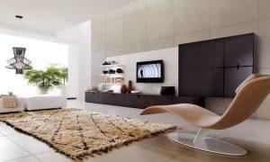 Как расположить телевизор в интерьере комнаты в квартире