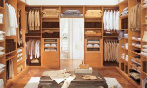 Системы хранения вещей для гардеробных комнат