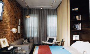 Гостиная-спальня – как совместить все в интерьере?
