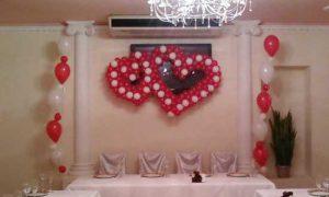 Самостоятельно украшаем зал на свадьбу
