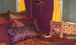 Арабский стиль в интерьере спальни