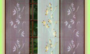 Используем шторы в японском стиле