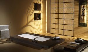 Оригинальный японский интерьер в квартире