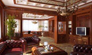 Английский стиль в интерьере частного дома
