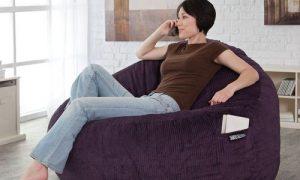 Кресло-мешок в интерьере дома