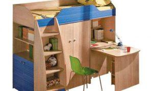 Как выбрать кровать-чердак для детей