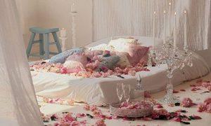 Романтические нотки в интерьере спальни