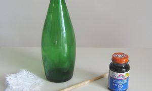 Как сделать поделки из стеклянных бутылок