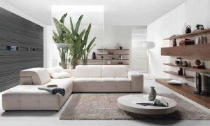 Интерьер квартиры в белом