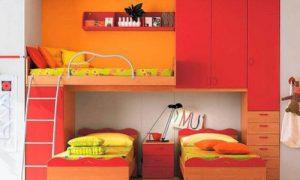 Детская комната для троих детей — идеи обустройства