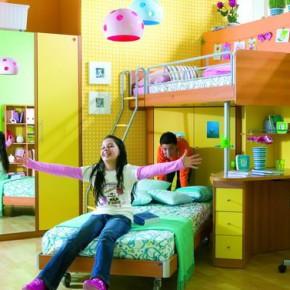 Подростковая комната для двоих детей - идеи оформления