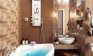 Красивый и современный дизайн ванной комнаты