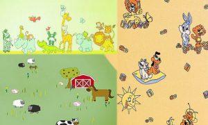 Идеи для выбора обоев в детскую комнату