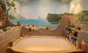 Идеи отделки стен ванной комнаты