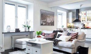 Cкандинавский стиль в интерьере квартиры