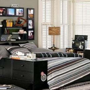 Оригинальная спальня для мальчика подростка