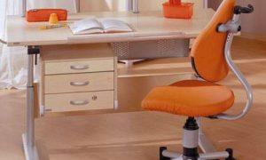 Письменный стол для школьника в интерьере