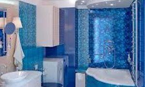 Угловые ванны в интерьере