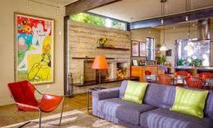 Гостиная совмещенная с кухней — идеи интерьеров