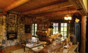 Идеи интерьера для деревянной дачи