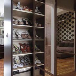 Идеи как хранить обувь, если мало места