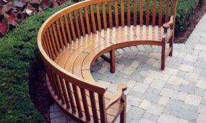 Садовая скамейка для дачи: готовимся к лету