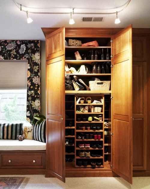 Шкаф для хранения обуви фото