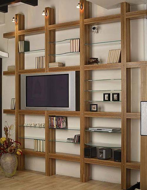 Как выбрать стеллажи для дома и квартиры - фото в интерьере