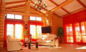 Отделка деревянного дома внутри: фото идеи для вдохновения