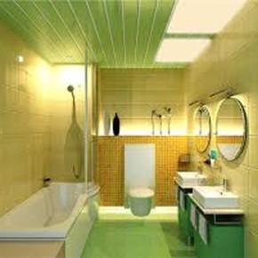 Пластиковые панели на стены в ванной: красивые интерьеры
