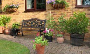 Как оформить внутренний дворик