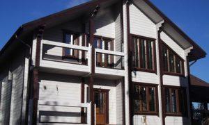 В какой цвет покрасить деревянный дом снаружи