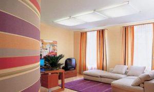 В какой цвет красить стены в квартире