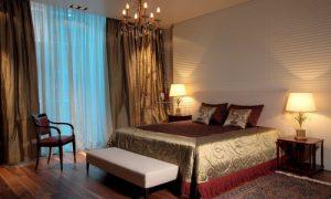 Простой интерьер спальни, но красивый: фото идеи