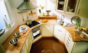 Компактная кухня: фото идеи дизайна