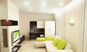 Дизайн квартиры 32 кв. м.: фото варианты