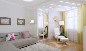 Дизайн квартиры 60 кв. м.: фото варианты