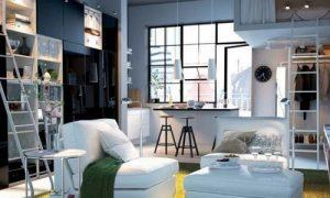 Дизайн квартиры в стиле Икеа: фото варианты
