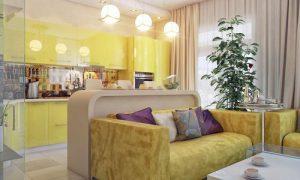 Как оформить простой интерьер квартиры: гостиная, кухня, зал