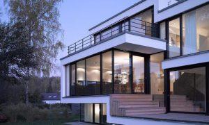 Стеклянный дом: фото идеи интерьеров