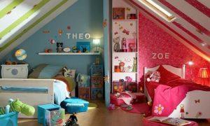Детская комната для двоих детей: идеи дизайна