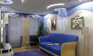 Идеи дизайна зала 16 и 18 кв.м